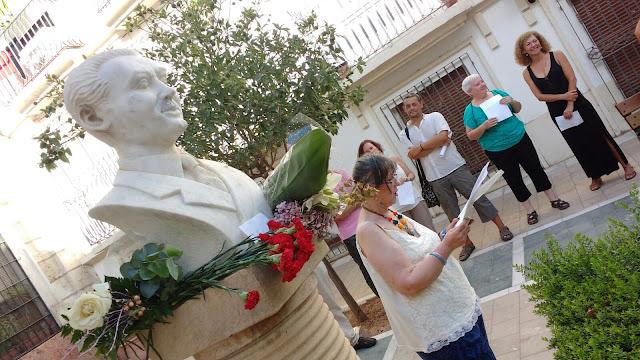 JUAN JOSÉ CEBA: A MODO DE IMPOSIBLE MANIFIESTO -HOMENAJE A GARCÍA LORCA en Almería
