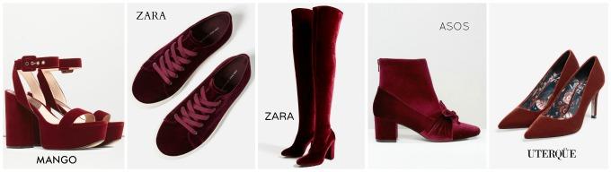 sandalias de terciopelo botines terciopelo