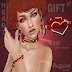 BOUTIQUE #187 -HEART CHOKER & BRACELET