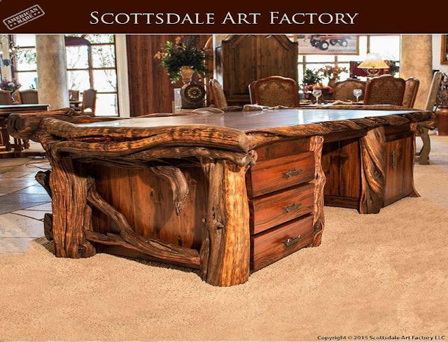best buy large rustic style office desk for sale online