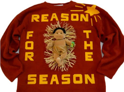 Worst christmas sweater ever