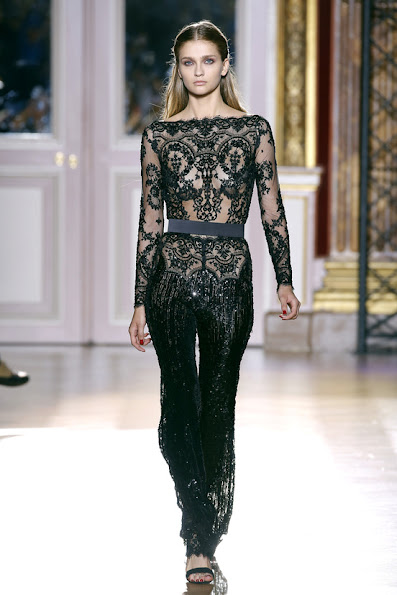 from the Lebanese designer's Fall 2012 Couture collection