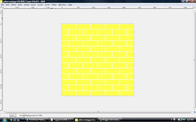 how to make a custom background in gimp