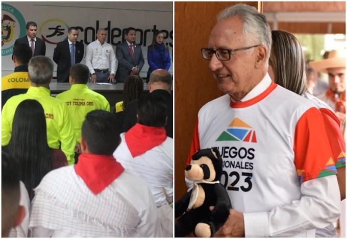 Por separado: Propuestas paralelas de Ibagué y Tolima para ser sede de los Juegos Nacionales 2023
