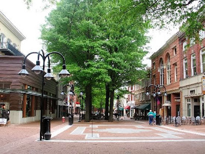 Downtown Charlottesville, Virginia