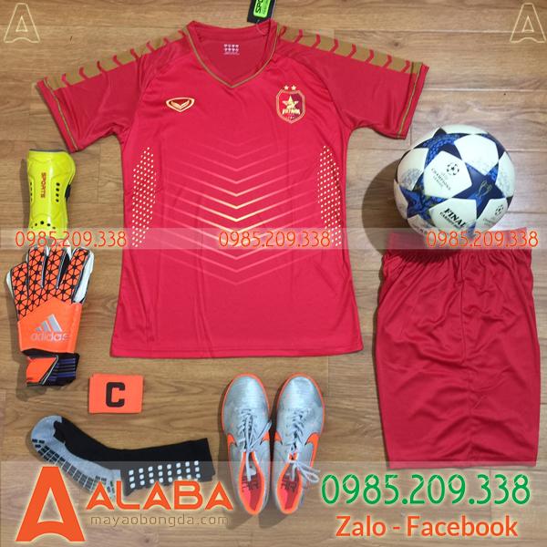Áo Đội Tuyển Việt Nam 2019 Training 2 Màu Đỏ