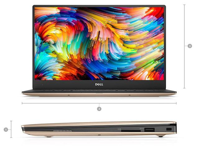 Dell nâng cấp dòng XPS 13: CPU Intel Kaby Lake mới nhất, màu Rose Gold