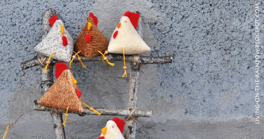 Мастер-класс по Курочке-Зерновушке / Primitive Easter Chick Tutorial
