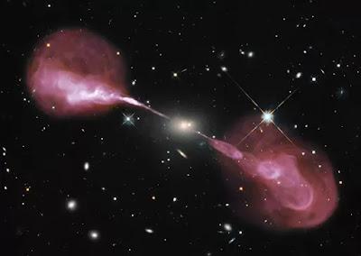 المجرة الراديوية (Radio galaxy)