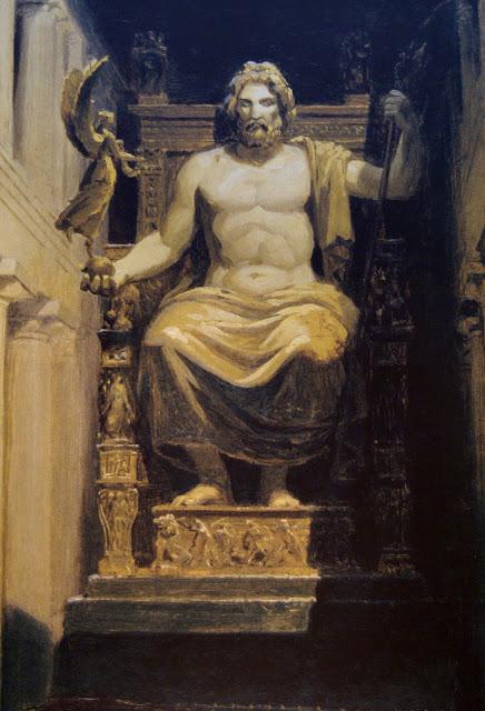 Mound of ash reveals shrine dedicated to Zeus