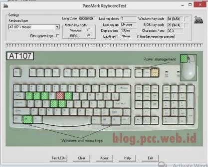PassMark Keyboard Test