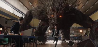 Fotograma de Un monstruo viene a verme