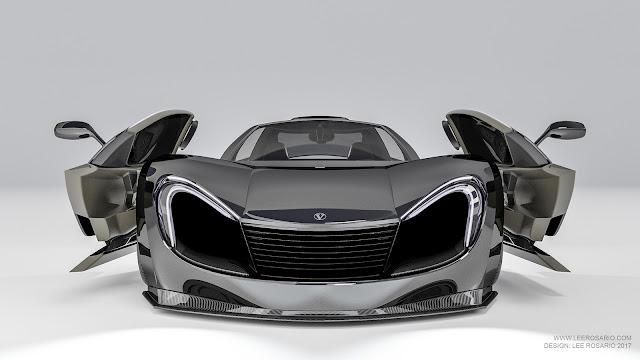 2017 Vultran IE Rendering - #Vultran #Rendering #supercar #concept