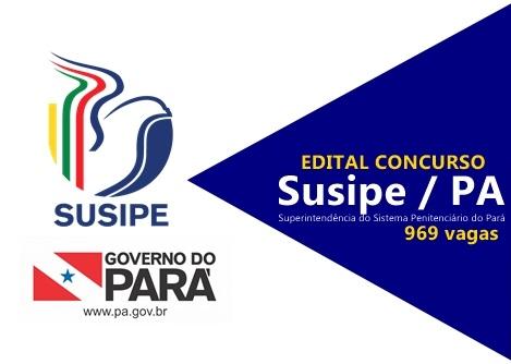 SUSIPE edital concurso 2017