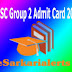 APPSC Group 2 Admit Card 2017 Download AP Prelims Hall Tickets