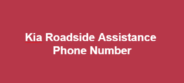 Walmart 1800 Call In Number >> Kia Roadside Assistance Phone Number