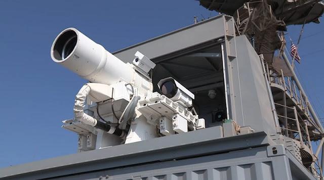 senjata laser LaWS buatan Amerika Serikat