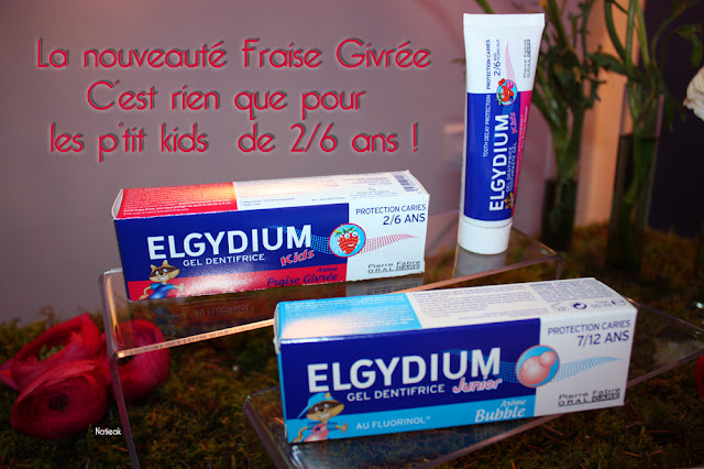 Elgydium gel dentifrice junior Fraise givrée