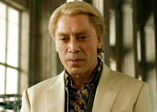 Javier Bardem as Silva in Skyfall, directed by Sam Mendis