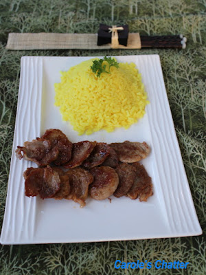 Carole's Chatter: Pork Shogayaki – Gingery Pork