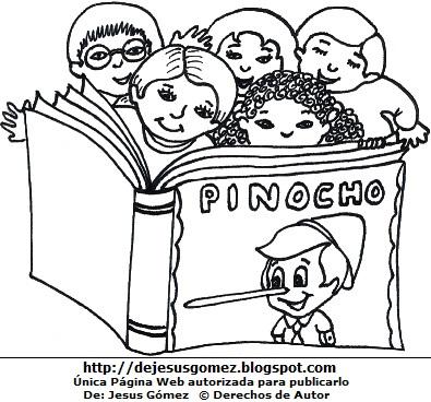 Dibujo Nino Leyendo