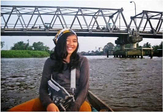 Keseruan Wisata di Sungai Asahan Kota Tanjung Balai