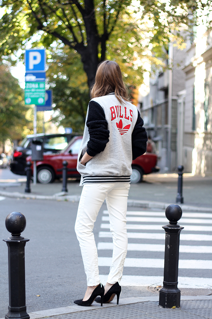 Fashion And Style Varsity Jacket