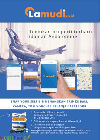 Lomba Foto Selfie di Booth Lamudi 2017 | Lamudi Indonesia | Umum