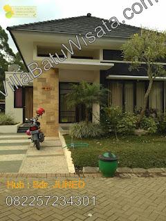 Villa Kota Batu Di Lereng Panderman | Villa Pinus 2 Kamar Tidur | Villa Batu Wisata