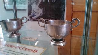 Vasos del Concejo. Museo de Riaño. Foto propia