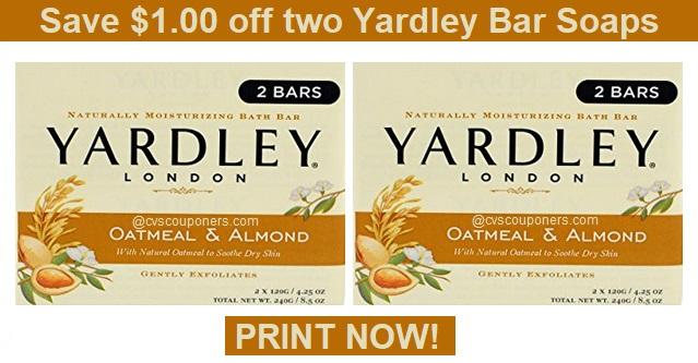 yardley soap printable coupon