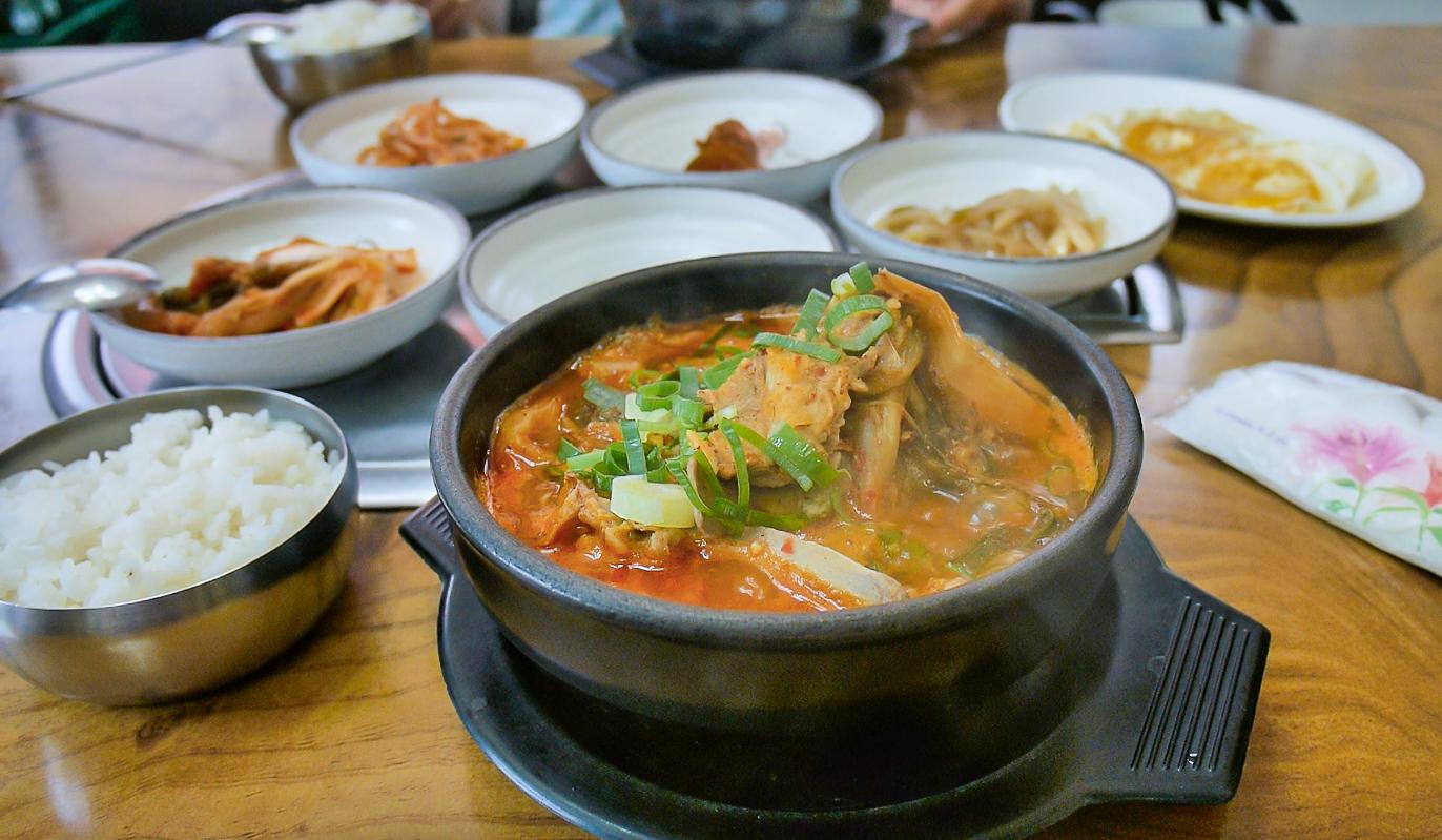 Best soups in jeju korea kimchi chigae hangover soup