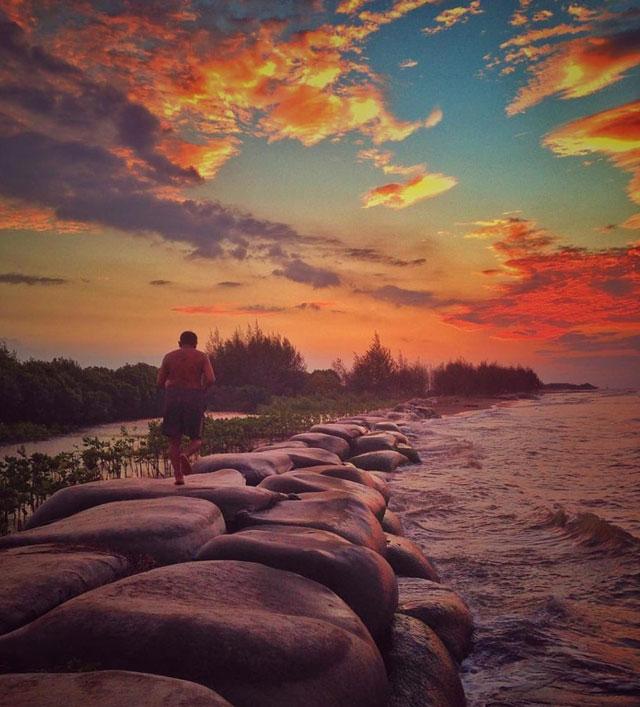 Krema Beach Pekalongan
