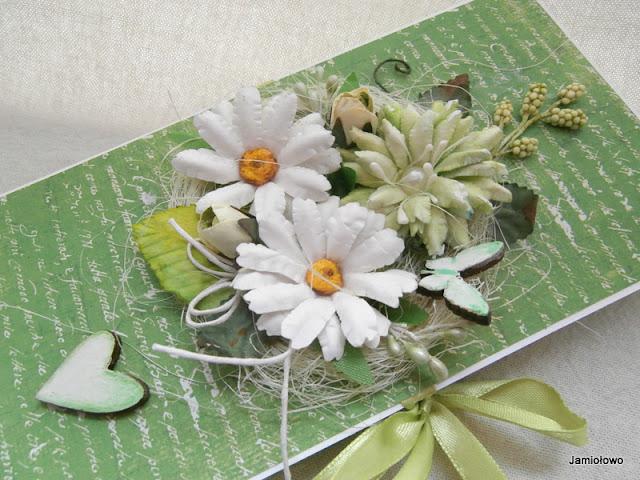 czekoladownik z kwiatami