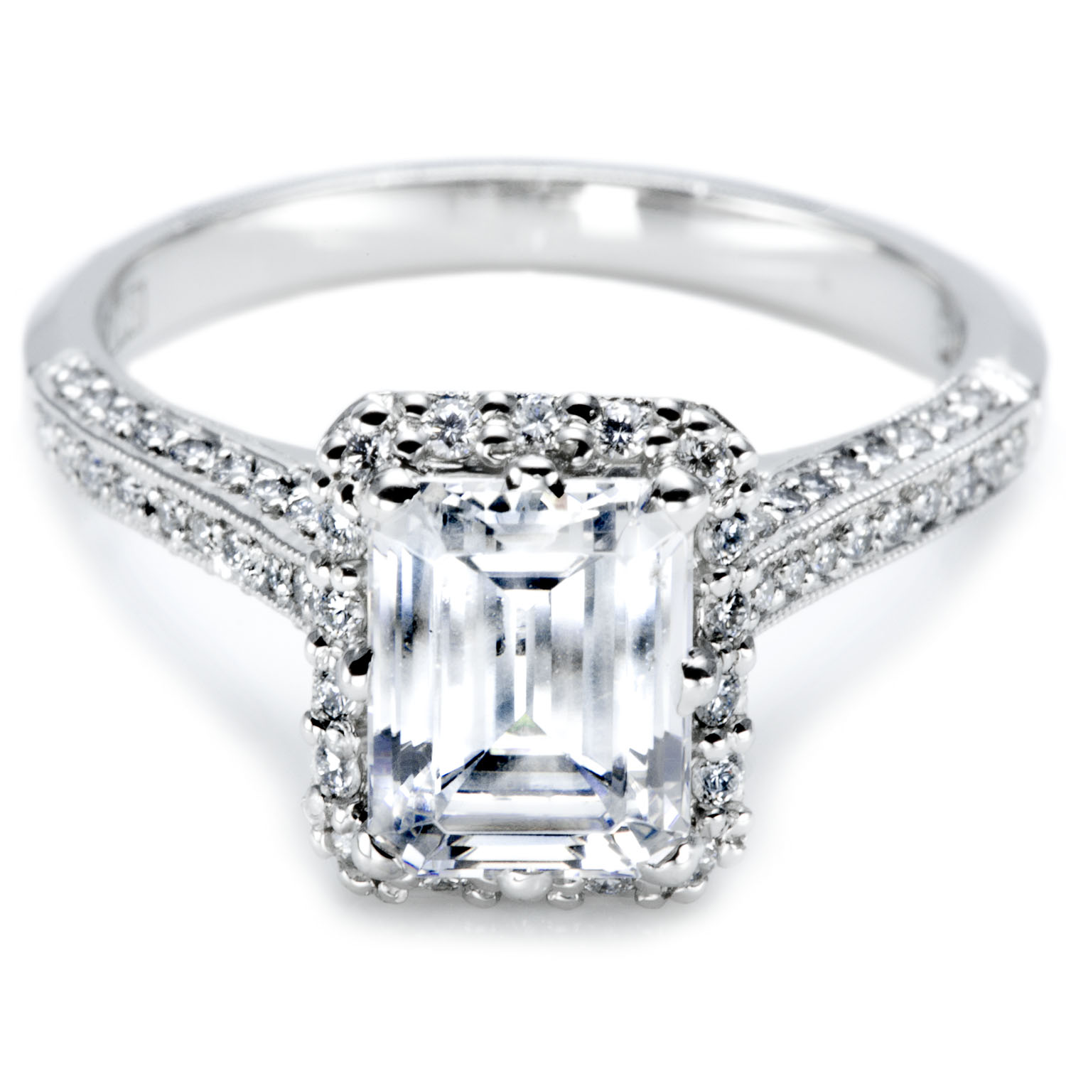 gorgeous tacori emerald engagement rings have your dream wedding. Black Bedroom Furniture Sets. Home Design Ideas