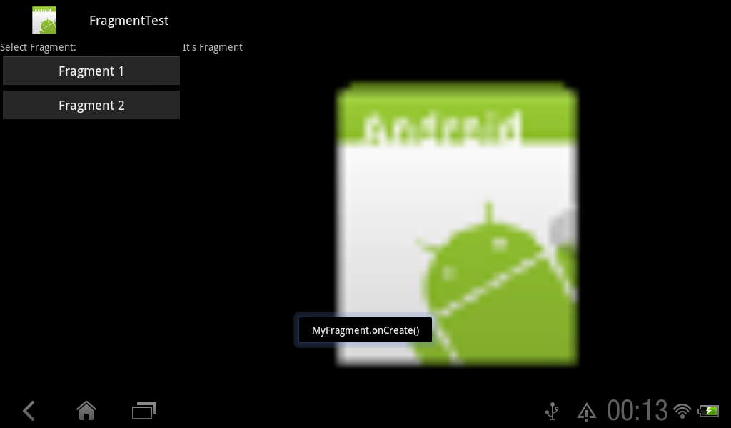 Android-er: Lifecycle of Fragment: onCreate(), onCreateView() and
