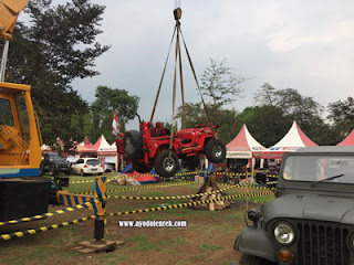 Jeep Willys model baru di Jambore American Jeep 2018 Cibubur