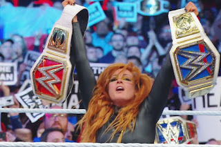 Becky Lynch became the champion of both the Raw and Smackdown.