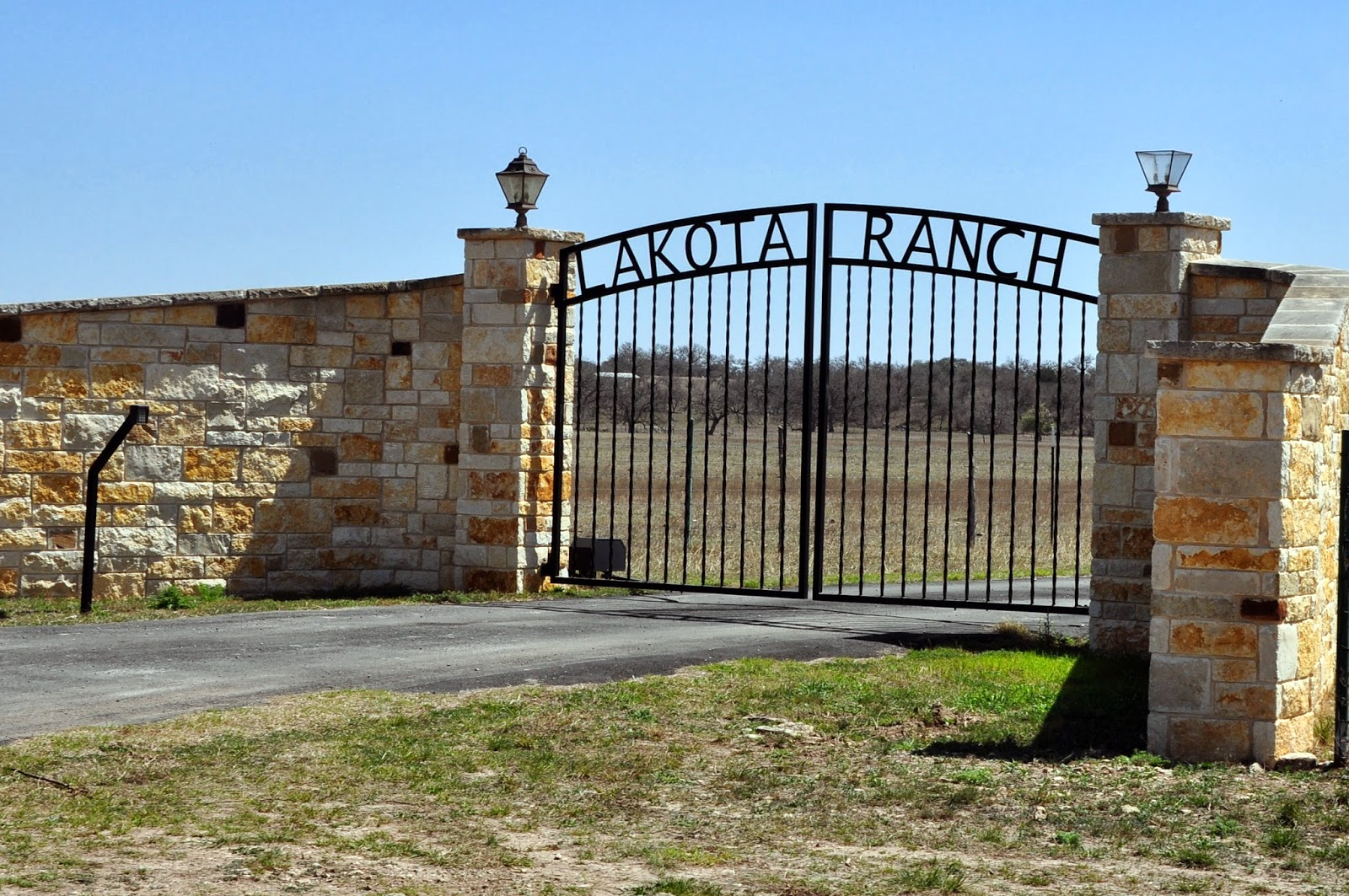 Tearoom Journal More Texas Hill Country Ranch Gates