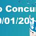 Resultado Federal Concurso 05251 (20/01/2018)