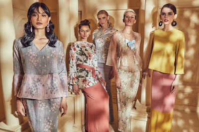 Source: ZALORA. New Eid collections for the company's own labels, ZALIA and LUBNA.