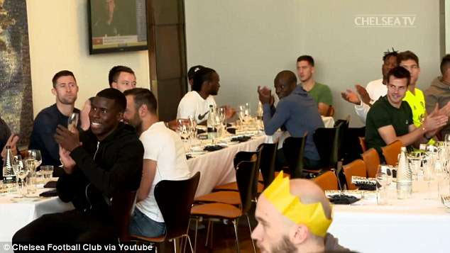 Last supper? Mikel Obi enjoys Christmas & New Year get-together with Chelsea teammates