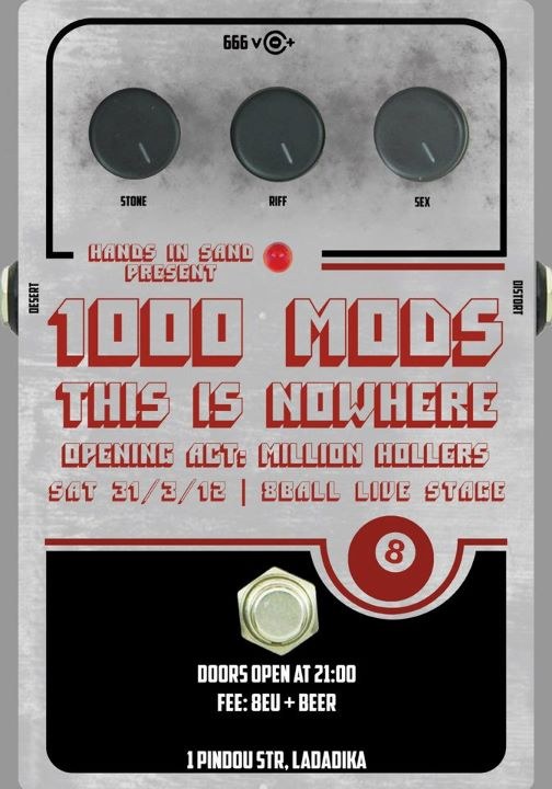 1000mods, This Is Nowhere Live In Thessaloniki Canceled