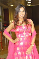 Sindhu Shivarama in Pink Ethnic Anarkali Dress 18.JPG