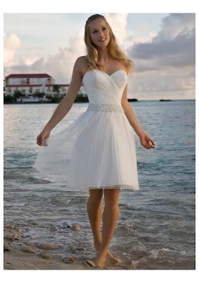 5 Vestidos (de noiva) e algumas idéias para o casamento na praia...!
