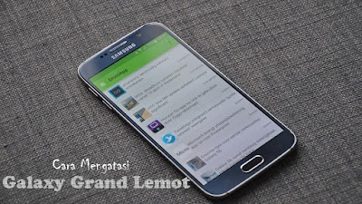 Samsung Galaxy Lemot