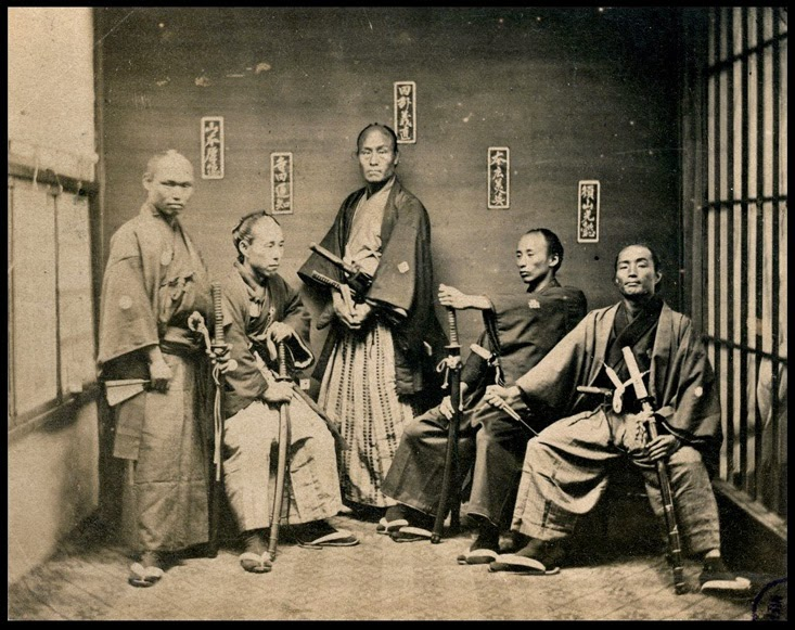 Ultimate Collection Of Rare Historical Photos. A Big Piece Of History (200 Pictures) - Samurai