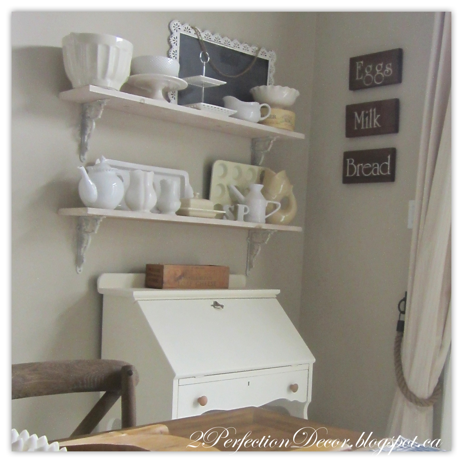 2perfection Decor Vintage Secretary Desk Makeover