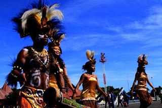 kebudayaan tari papua