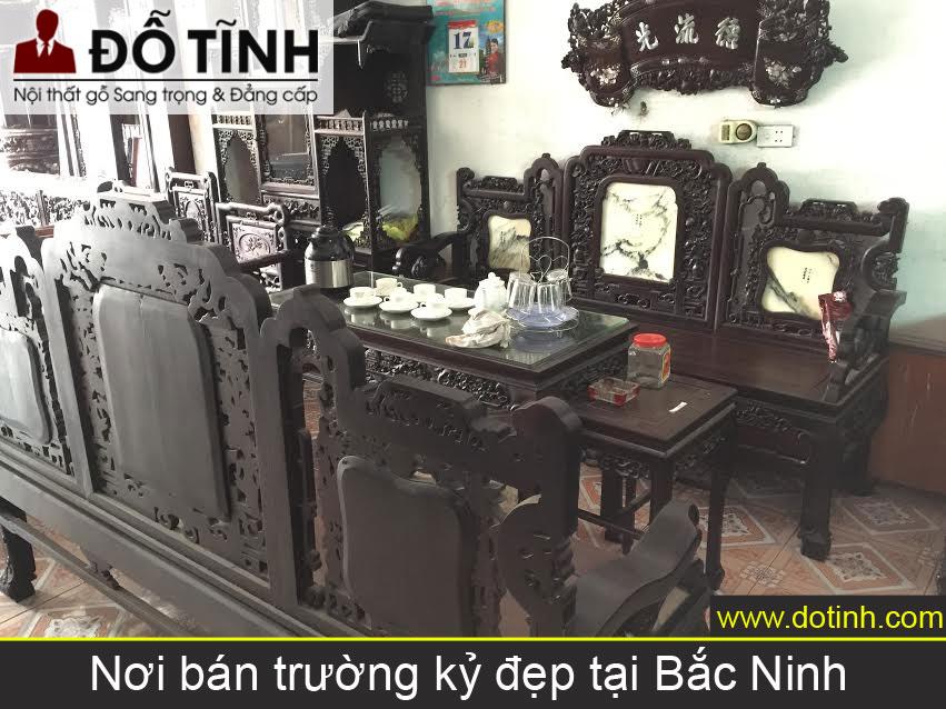 Nơi bán trường kỷ đẹp, giá rẻ tại Bắc Ninh?